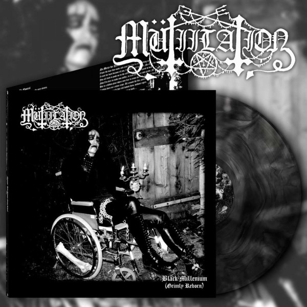 Mutiilation – Black Millenium (Grimly Reborn), LP (Black galaxy)