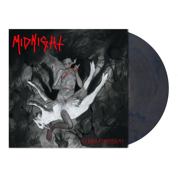 Midnight – Rebirth By Blasphemy, LP (红蓝理石)