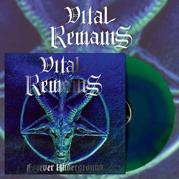 Vital Remains – Forever Underground, LP (蓝绿漩涡)