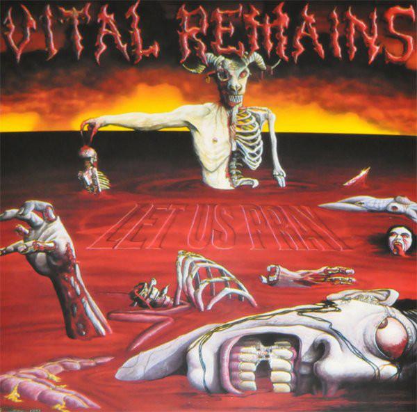 Vital Remains – Let Us Pray, LP (黑色)