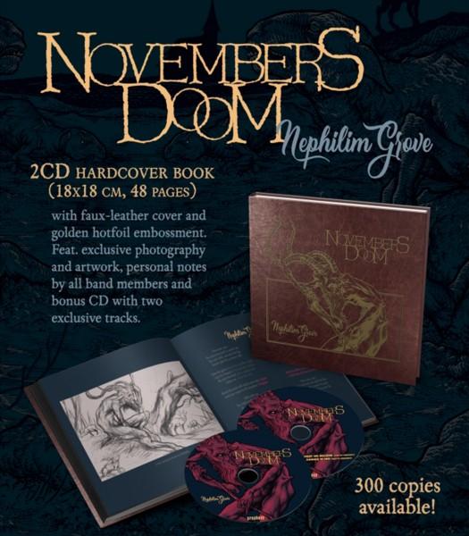 Novembers Doom – Nephilim Grove, 2xCD Artbook