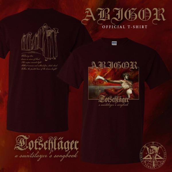 [订购] ABIGOR – Totschläger (A Saintslayer's Songbook), T恤 [预付款1|169]