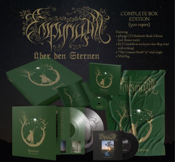 [订购] Empyrium – Über den Sternen, 收藏套盒 [预付款1|799]