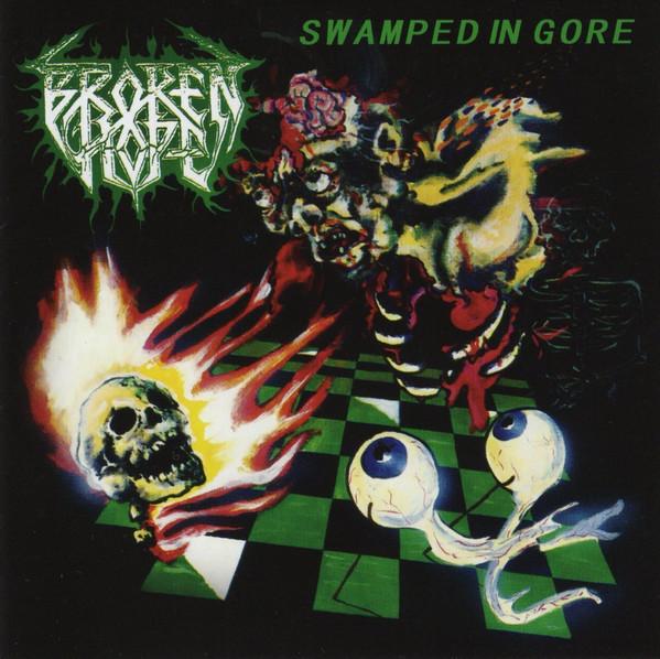 Broken Hope – Swamped In Gore, LP (透明喷溅)