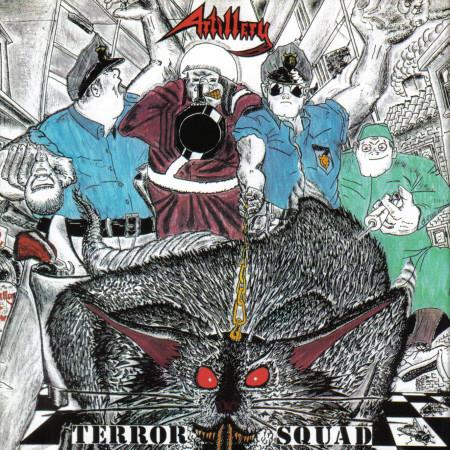 Artillery – Terror Squad, CD