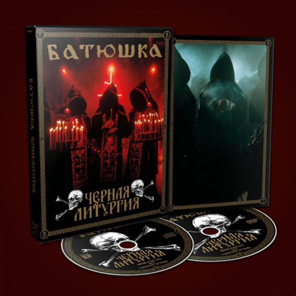 [订购] Batushka – BLACK LITURGY, CD + DVD (A5) [预付款1|129]