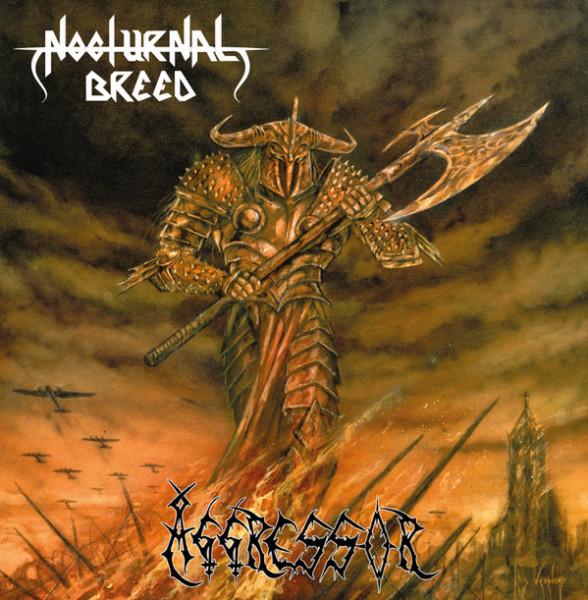 Nocturnal Breed – Aggressor, LP (银黑喷溅)