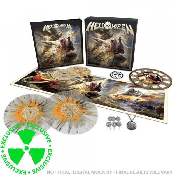 [订购] Helloween – Helloween, 限量套盒 (2CD + 2喷溅胶) [预付款1|1599]