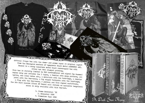 [订购] Limbonic Art – A Dark Star Rising, 3x磁带 套盒 [预付款1|499]