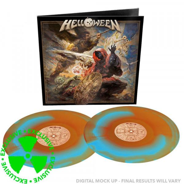 [订购] Helloween – Helloween, 2xLP (蓝橙色漩涡) [预付款1|299]