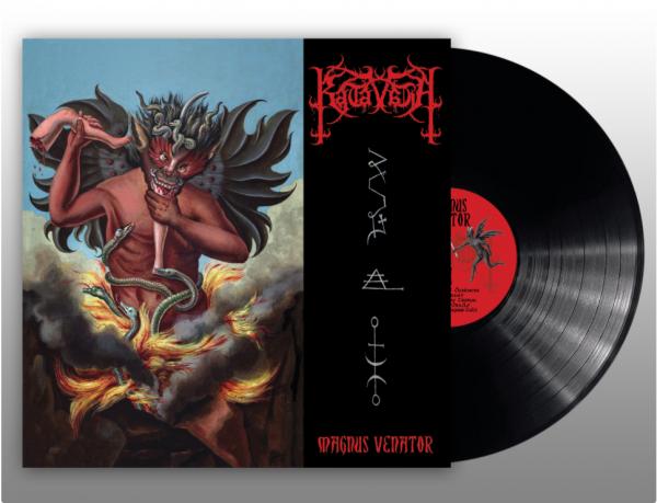 Katavasia – Magnus Venator, LP (黑色)