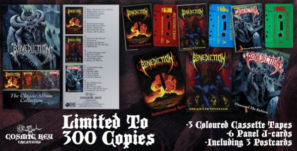 [订购] Benediction – The Classic Album Collection, 3x磁带套盒 [预付款1 289]