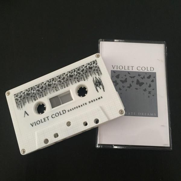 Violet Cold – Desperate Dreams, 磁带 (白色)