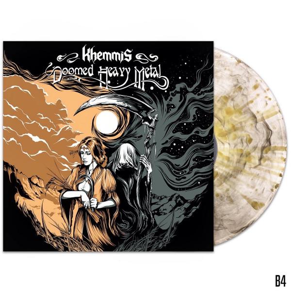 Khemmis – Doomed Heavy Metal, LP (透明烟雾喷溅)