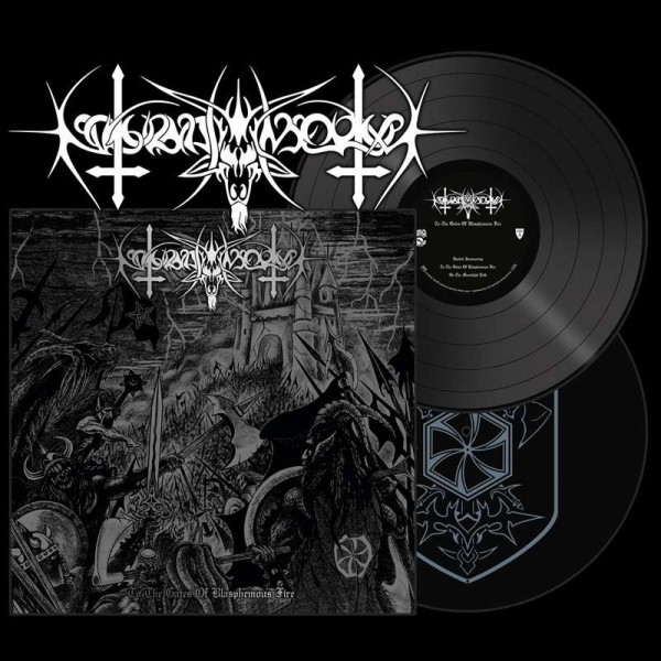 Nokturnal Mortum ‎– To The Gates Of Blasphemous Fire, 2xLP (Black)