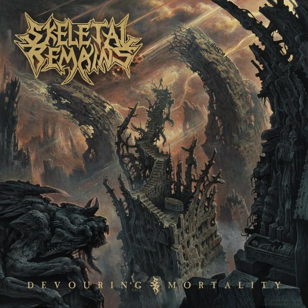[订购] Skeletal Remains – Devouring Mortality, LP (透明红色) [预付款1 189]