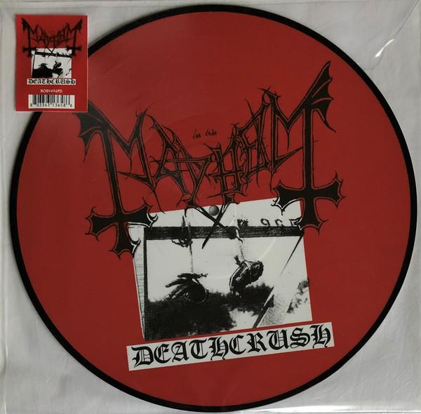 [订购] Mayhem – Deathcrush, LP (画胶) [预付款1|189]