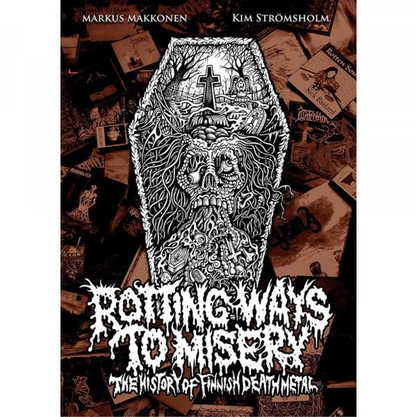 [订购] Rotting Ways To Misery: The history of Finnish Death Metal, 书 [预付款1|279]