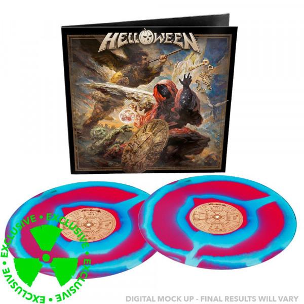 [订购] Helloween – Helloween, 2xLP (红蓝色漩涡) [预付款1|299]