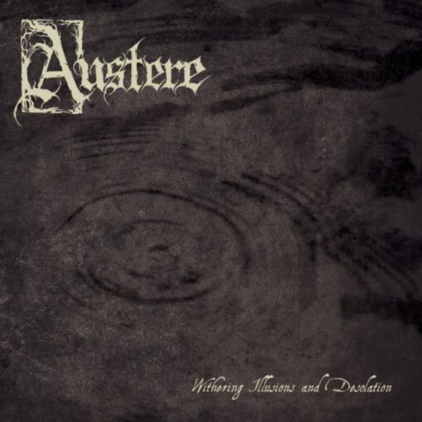 [订购] Austere – Withering Illusions And Desolation, LP (烟雾色) [预付款1|195]