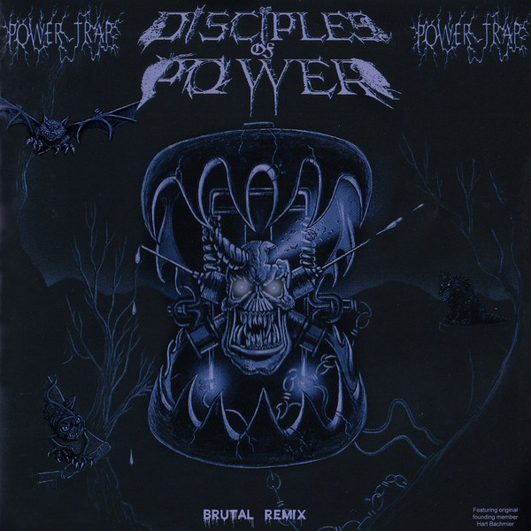 Disciples Of Power ‎– Power Trap, LP (Silver, limited 100)