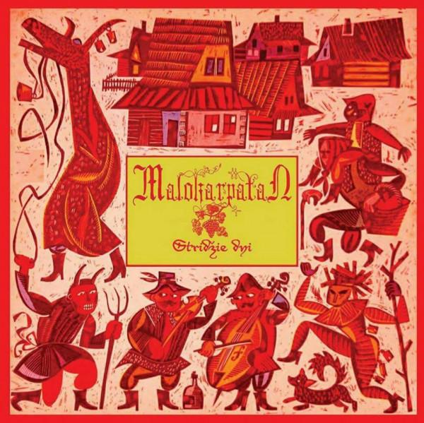Malokarpatan – Stridžie Dni, LP (黑色)