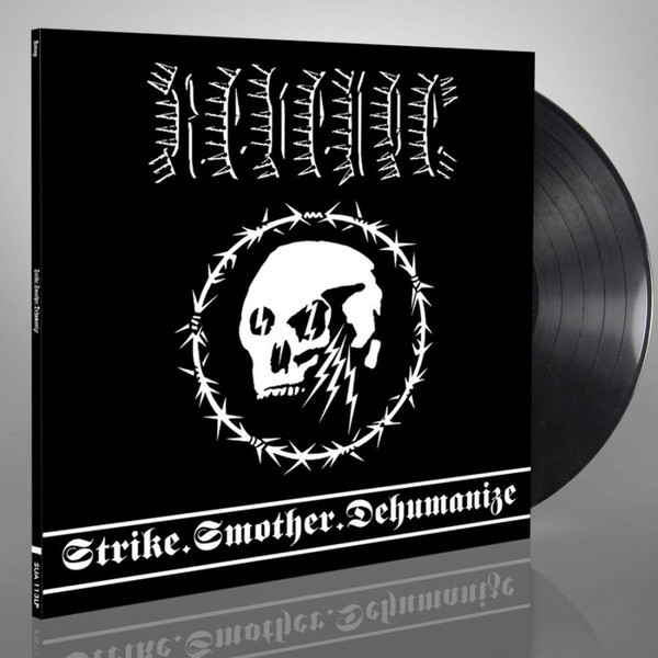 Revenge – Strike.Smother.Dehumanize, LP (黑色)
