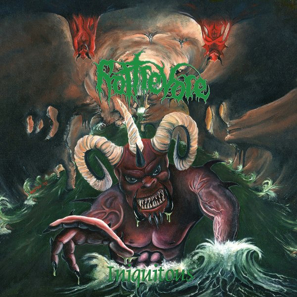 Rottrevore – Iniquitous, LP (黑色)