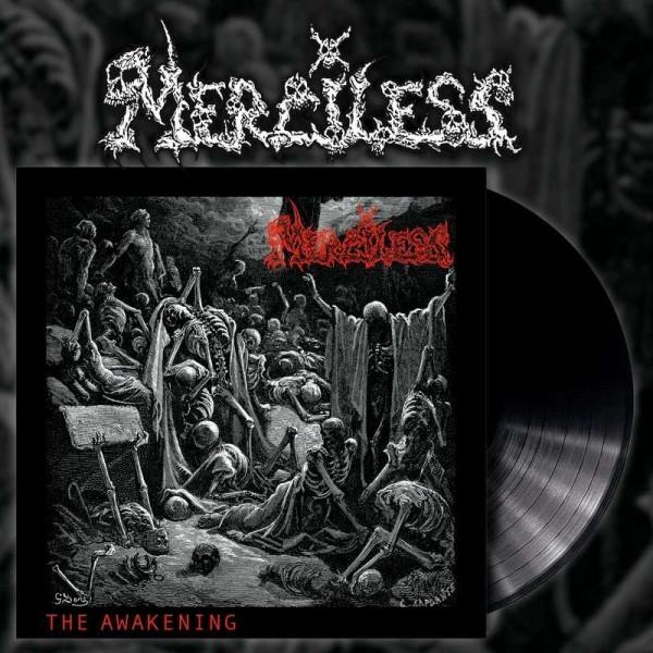 [订购] Merciless – The Awakening, LP (黑色) [预付款1|149]