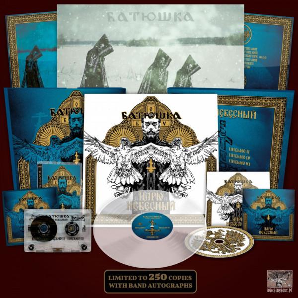 [订购] Batushka – ЦАРЮ НЕБЕСНЫЙ, LP 木盒 (蓝色) [预付款1|499]