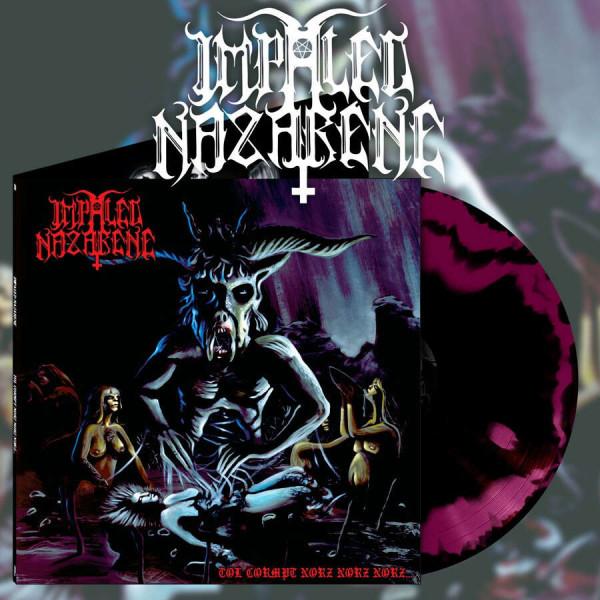 [订购] Impaled Nazarene – Tol Cormpt Norz Norz Norz..., LP (紫黑色混合) [预付款1|169]