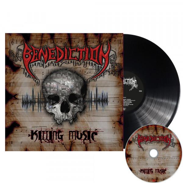 BENEDICTION – Killing music, LP (黑色) + CD