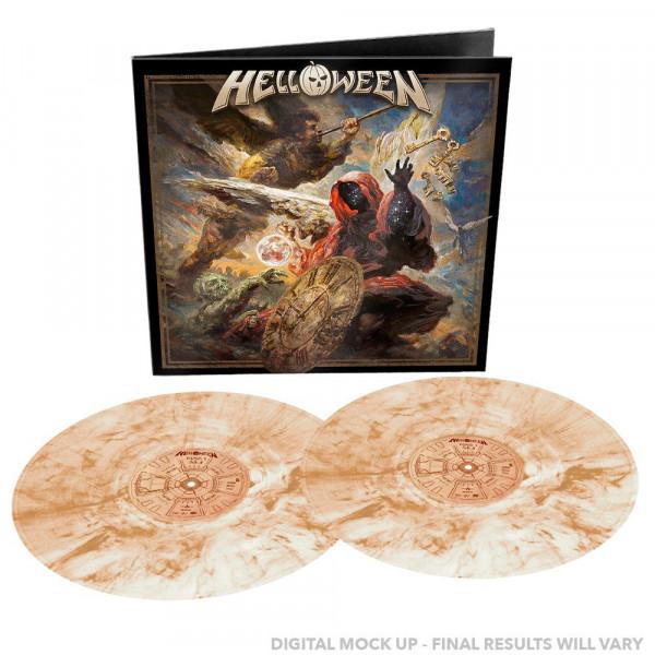 [订购] Helloween – Helloween, 2xLP (棕色奶白理石) [预付款1|249]