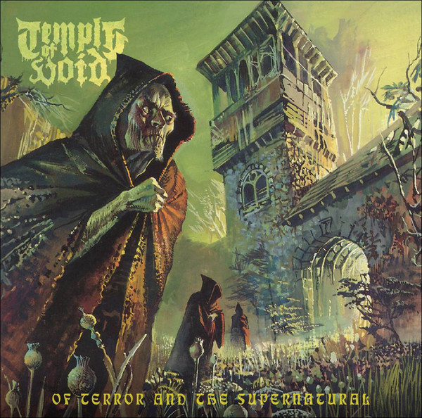 Temple Of Void – Of Terror And The Supernatural, 2xLP (绿黄星云)
