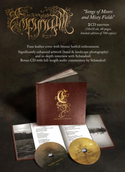 [订购] Empyrium – Songs Of Moors & Misty Fields, 2xCD Artbook [预付款1 229]