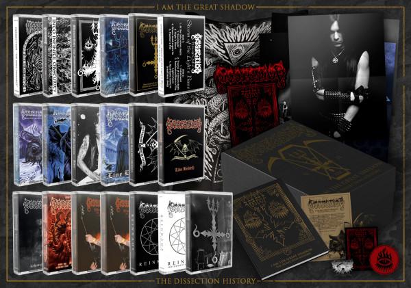[订购] Dissection – I Am The Great Shadow, 19x磁带 套盒 [预付款1000|2000]
