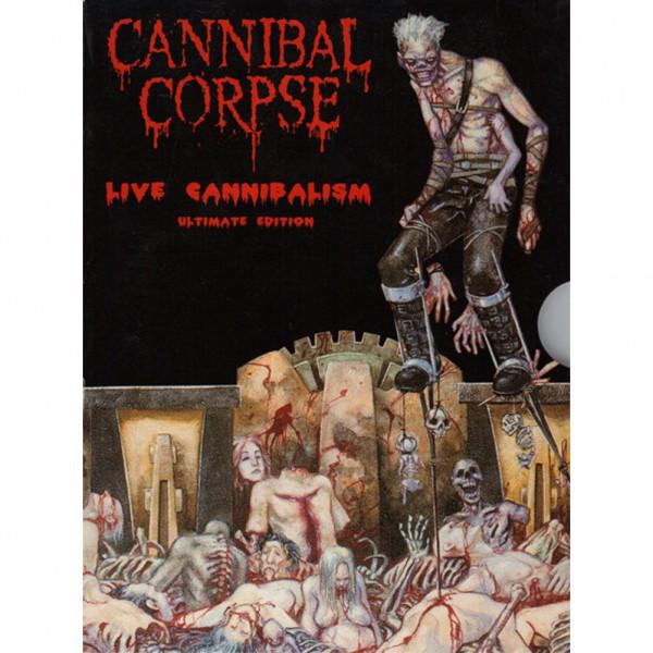 [订购] Cannibal Corpse – Live Cannibalism-Ultimate Edition, DVD [预付款1|119]