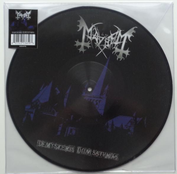 [订购] Mayhem – De Mysteriis Dom Sathanas, LP (画胶) [预付款1|189]