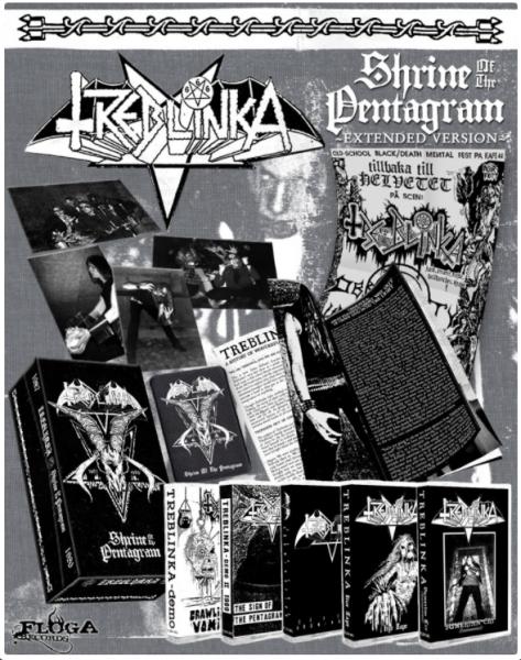Treblinka – Shrine Of The Pentagram, 5x磁带 套盒