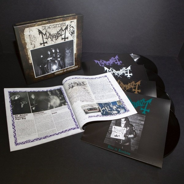 Mayhem ‎– Cursed In Eternity, 4xLP Boxset
