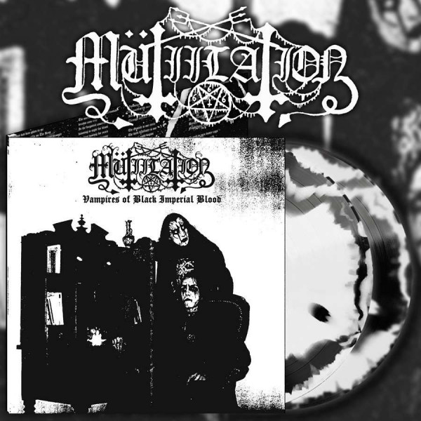 Mutiilation ‎– Vampires Of Black Imperial Blood, 2xLP (Black & White Swirl)