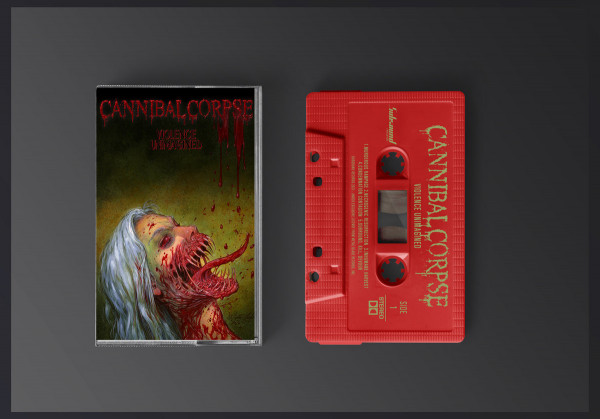 Cannibal Corpse – Violence Unimagined, 磁带 (红色, 限量350)