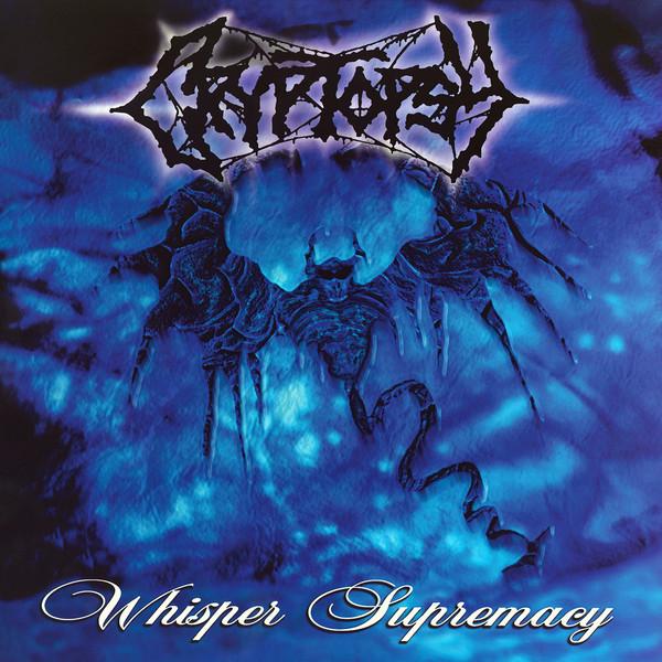 Cryptopsy – Whisper Supremacy, LP (蓝色带黑白喷溅)