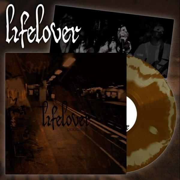 Lifelover – Dekadens, LP (金色/棕色漩涡)