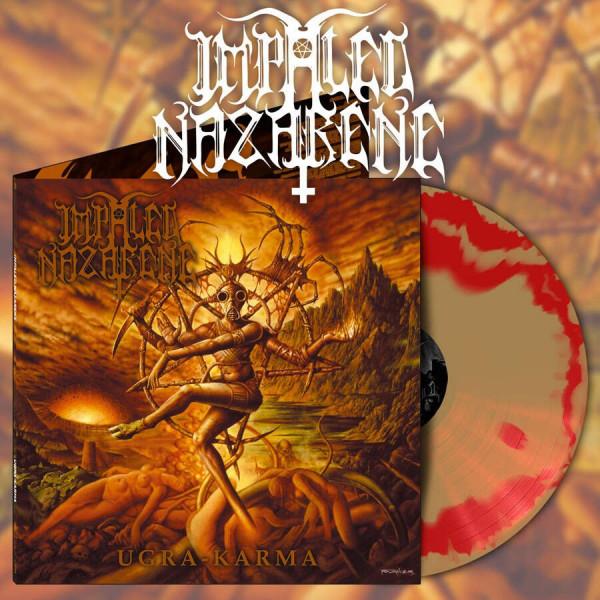 [订购] Impaled Nazarene – Ugra-Karma, LP (橙金色混合) [预付款1|169]